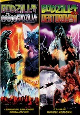Rent Godzilla: Destroyah / Space Godzilla on DVD