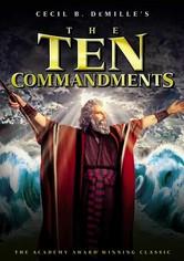 Rent The Ten Commandments on DVD