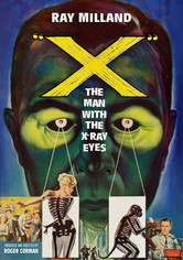 Rent X: The Man with the X-Ray Eyes on DVD