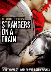 Rent Strangers on a Train on DVD