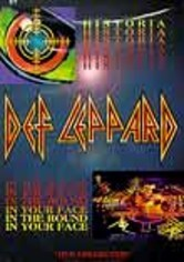 Rent Def Leppard: Historia/In the Round on DVD