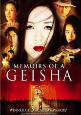 Rent Memoirs of a Geisha on DVD