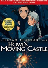Rent Howl's Moving Castle on DVD