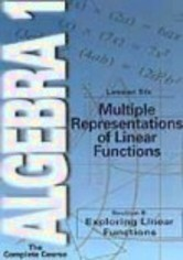 Rent Algebra 1: Lesson 6 on DVD