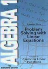 Rent Algebra 1: Lesson 9 on DVD