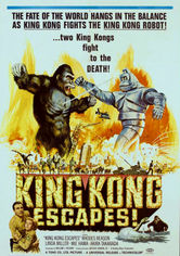 Rent King Kong Escapes on DVD