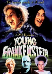 Rent Young Frankenstein on DVD