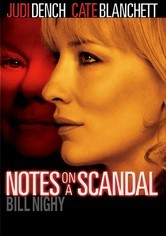 Rent Notes on a Scandal on DVD