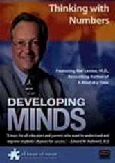 Rent Developing Minds: Thinking with Numbers on DVD