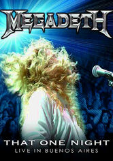 Rent Megadeth: That One Night: Buenos Aires on DVD