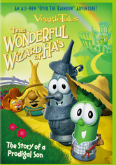 Rent VeggieTales: The Wonderful Wizard of Ha's on DVD