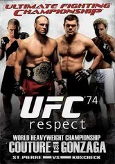 Rent UFC 74: Respect on DVD