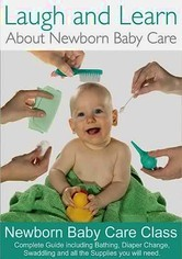 Rent Laugh and Learn About Newborn Baby Care on DVD