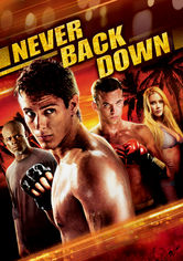 Rent Never Back Down on DVD