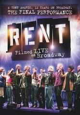 Rent Rent: Filmed Live on Broadway on DVD