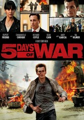 Rent 5 Days of War on DVD
