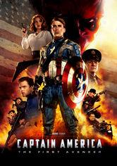 Rent Captain America: The First Avenger on DVD
