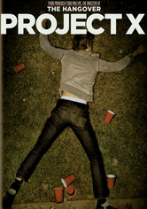 Rent Project X on DVD