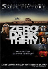 Rent Zero Dark Thirty on DVD