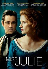 Rent Miss Julie on DVD