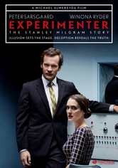 Rent Experimenter on DVD