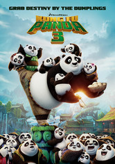 Rent Kung Fu Panda 3 on DVD