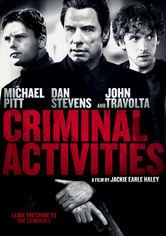 Rent Criminal Activities  on DVD