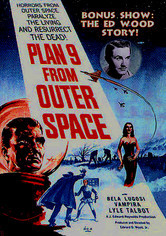 Rent Plan 9 from Outer Space on DVD