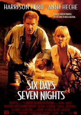 Rent Six Days, Seven Nights on DVD