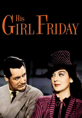 Rent His Girl Friday on DVD