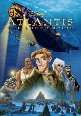 Rent Atlantis: The Lost Empire on DVD