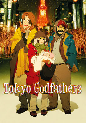 Rent Tokyo Godfathers on DVD