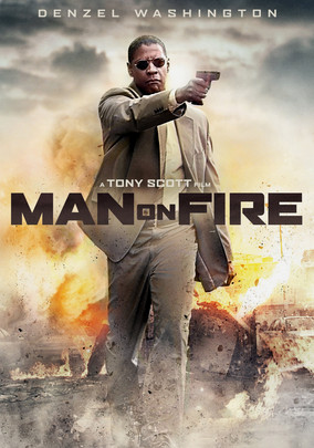 Rent Man on Fire on DVD