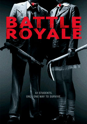 Rent Battle Royale on DVD
