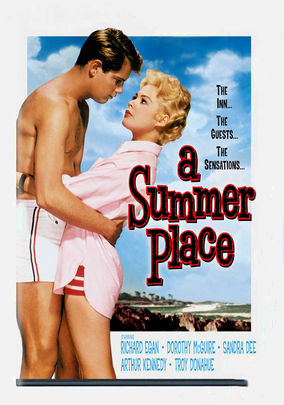 Rent A Summer Place on DVD