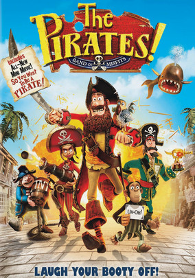 Rent The Pirates! Band of Misfits on DVD