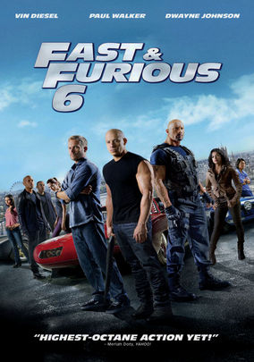 Rent Fast & Furious 6 on DVD