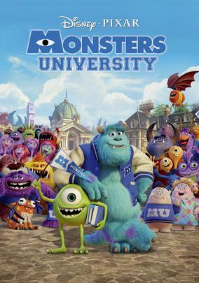 Rent Monsters University on DVD