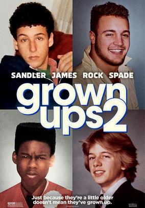 Rent Grown Ups 2 on DVD