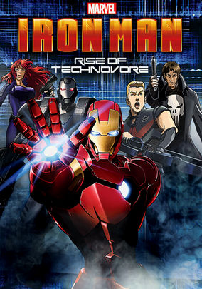 Rent Iron Man: Rise of Technovore on DVD