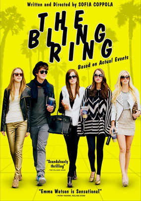 Rent The Bling Ring on DVD