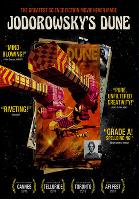 Rent Jodorowsky's Dune on DVD