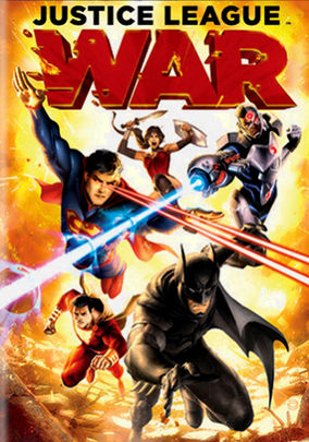 Rent DCU Justice League: War on DVD