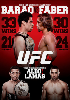 Rent UFC 169: Barao vs. Faber on DVD