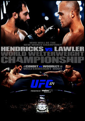 Rent UFC 171: Hendricks vs. Lawler on DVD