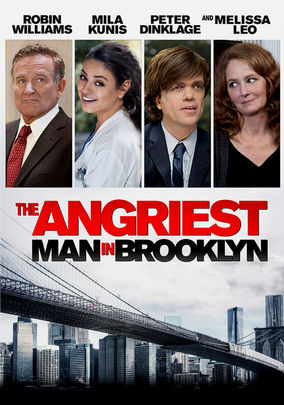 Rent The Angriest Man in Brooklyn on DVD