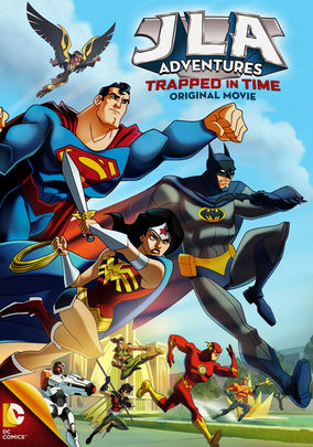 Rent JLA Adventures: Trapped in Time on DVD