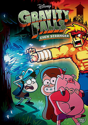 Rent Gravity Falls: Even Stranger on DVD