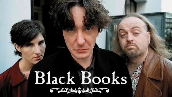 Rent Black Books on DVD