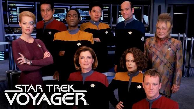 Rent Star Trek: Voyager on DVD